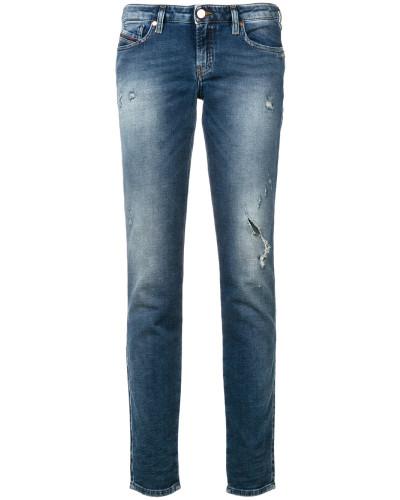 'Graceyene' Distressed-Jeans