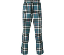 tartan track pants