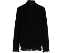 Pullover aus recycelter Baumwolle