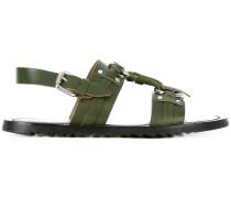 Sandalen mit Schnalle - men - Leder/rubber - 44