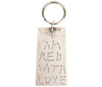 - 'I Am Red With Love' Schlüsselanhänger - men
