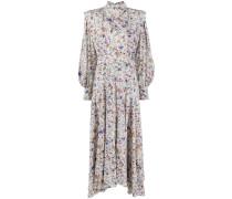 'Zakae' Kleid mit abstraktem Print