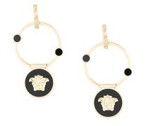 Medusa hoop earrings