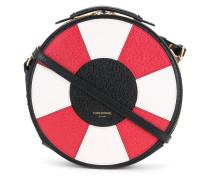 round shoulder bag - women - Leder