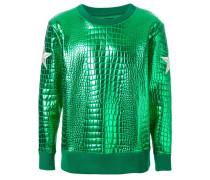 Sweatshirt mit Patches am Arm