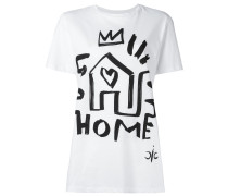 "T-Shirt mit ""Home""-Print"
