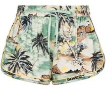'Juliette' Shorts mit Insel-Print