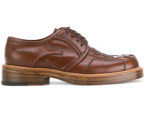 stitched Derby shoes