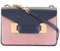 Nano Milner Leather and Python-Effect Shoulder Bag