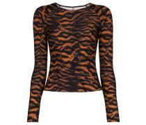 Oberteil mit Tiger-Print