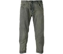 Klassische Cropped-Jeans - men - Baumwolle - 33