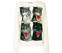 OversizedSweatshirt mit TigerPrint