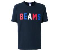 T-Shirt mit Text-Print
