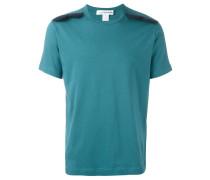 T-Shirt mit gewelltem Einsatz