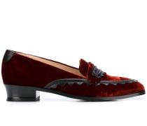 Loafer mit Lederpaspel