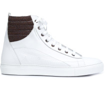 HighTopSneakers mit Schnürung