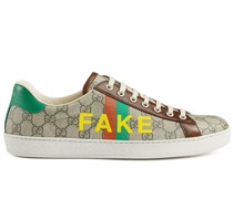 """'Ace' Sneakers mit """"Fake/Not""""-Print"""