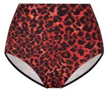 Slip mit Leoparden-Print