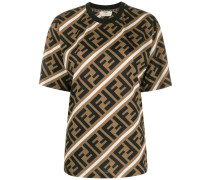 T-Shirt mit FF-Muster