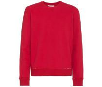 'Rockstud' Pullover mit rundem Ausschnitt