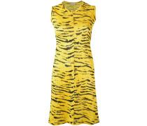 - Kleid mit Tiger-Print - women - Polyester - 1