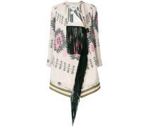 aztec print coat