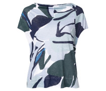printed fitted T-shirt