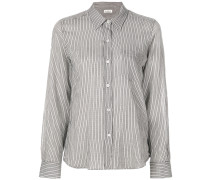 Gestreiftes Hemd mit schmaler Passform