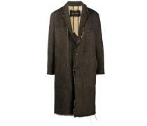 Mantel mit Garndetail