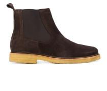 A.P.C. Chelsea-Boots mit Kontrastsohle