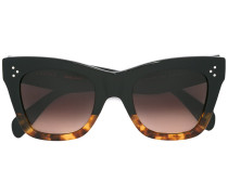 Schildpatt-Sonnenbrille mit Farbverlauf - women