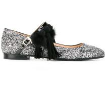 'Galaxy Glitter' Ballerinas