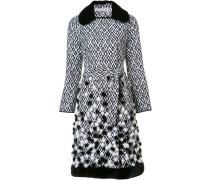 Mantel mit Diamantenmuster