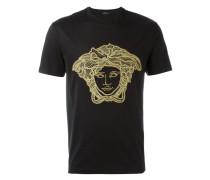 'Medusa Head' T-Shirt mit Stickerei