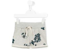 Shorts mit floralem Print - kids - Baumwolle