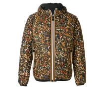 x K-WAY reversible floral print jacket