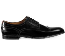 Derby-Schuhe mit Webstreifen