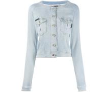 Jeansjacke mit schmalem Schnitt