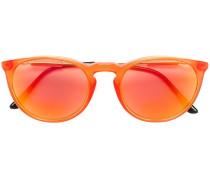 - Metallische 'Pop Chic' Sonnenbrille mit rundem