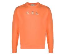"Sweatshirt mit ""Yoga Fox""-Patches"