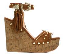 'Bliss' Sandalen mit Keilabsatz