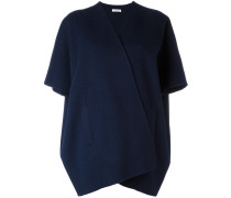 Oversized-Cape aus Wolle - women - Wolle - S