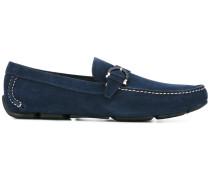 Gancini buckle loafers