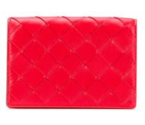 Portemonnaie mit Intrecciato-Muster