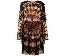 'Kaleido Eye' Kleid mit Print