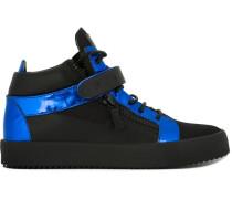 High-Top-Sneakers mit Reißverschlüssen