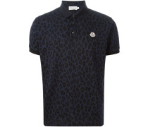 Poloshirt mit Leoparden-Print