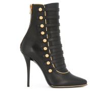 'Alienor' lace-up ankle boots