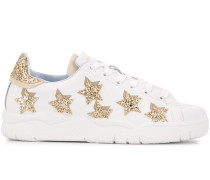 'Roger' Sneakers im Glitter-Look