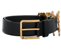 belt with logo detail